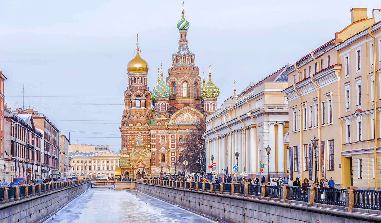 Discover the elegance and grandeur of St Petersburg