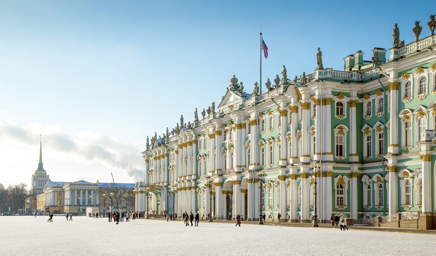 Spend an hour or more taking in the exhibits of the Hermitage Museum at the Winter Palace