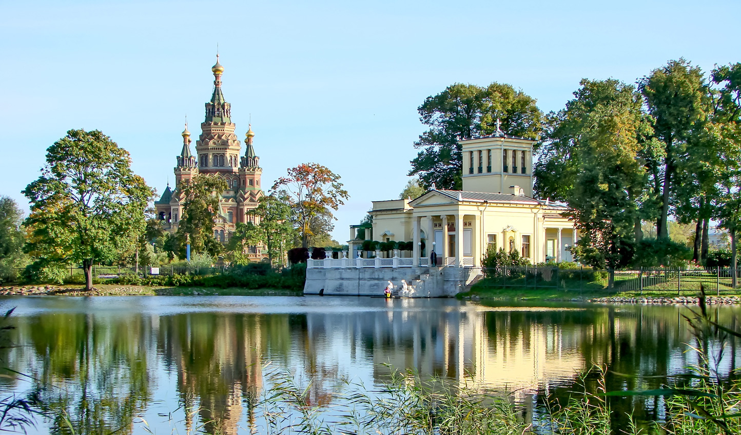 Take a stroll through the gardens of Peterhof, admiring its palaces, churches and more