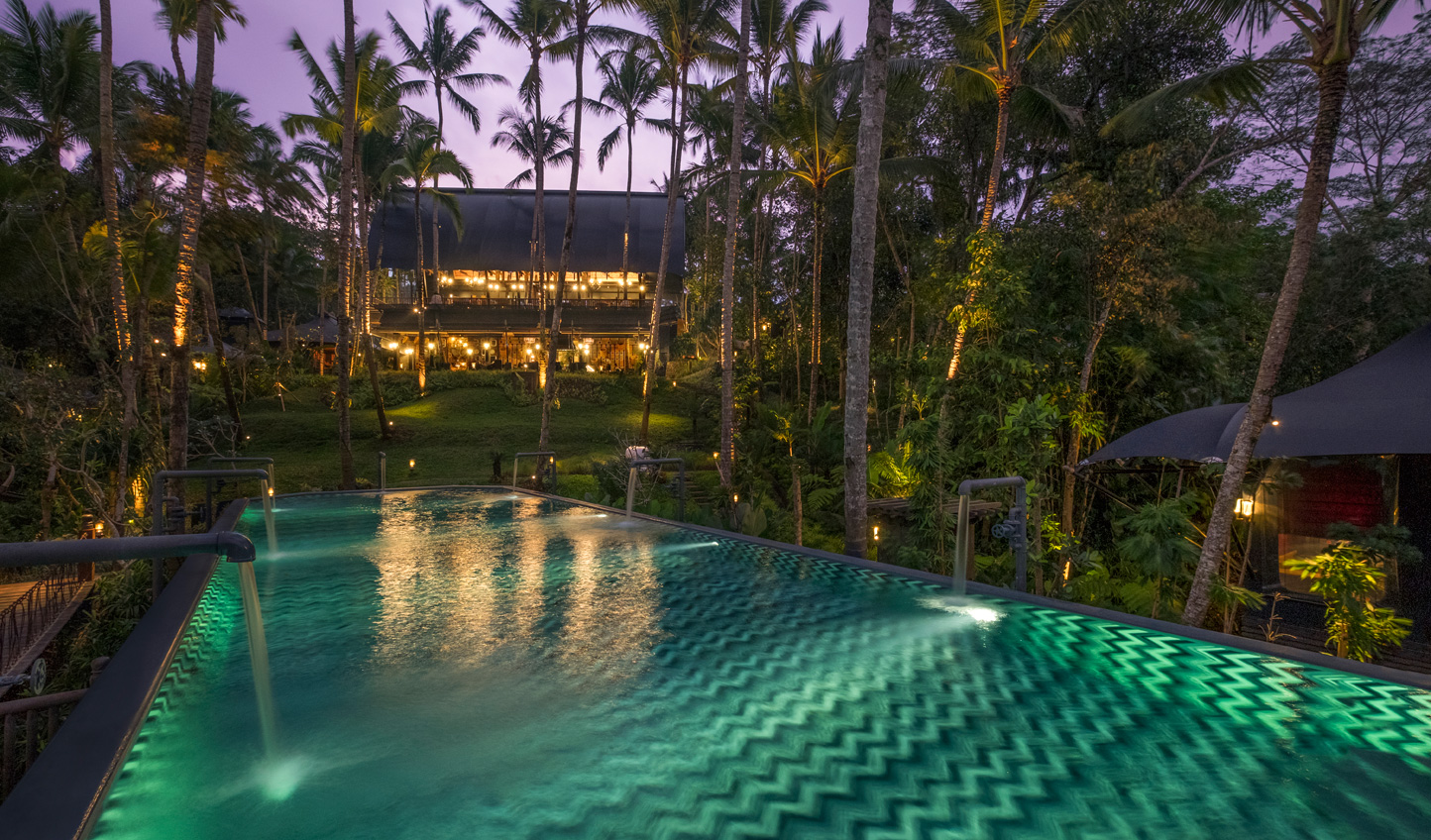 Nicknamed 'The Cistern', take a deep in the pool at the heart of the Ubud jungle