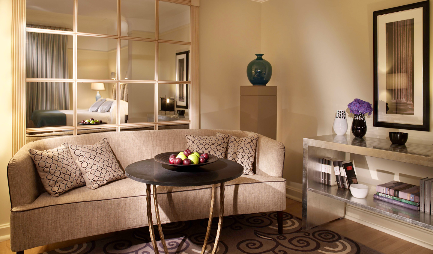 Contemporary design brings modern luxury to the suites