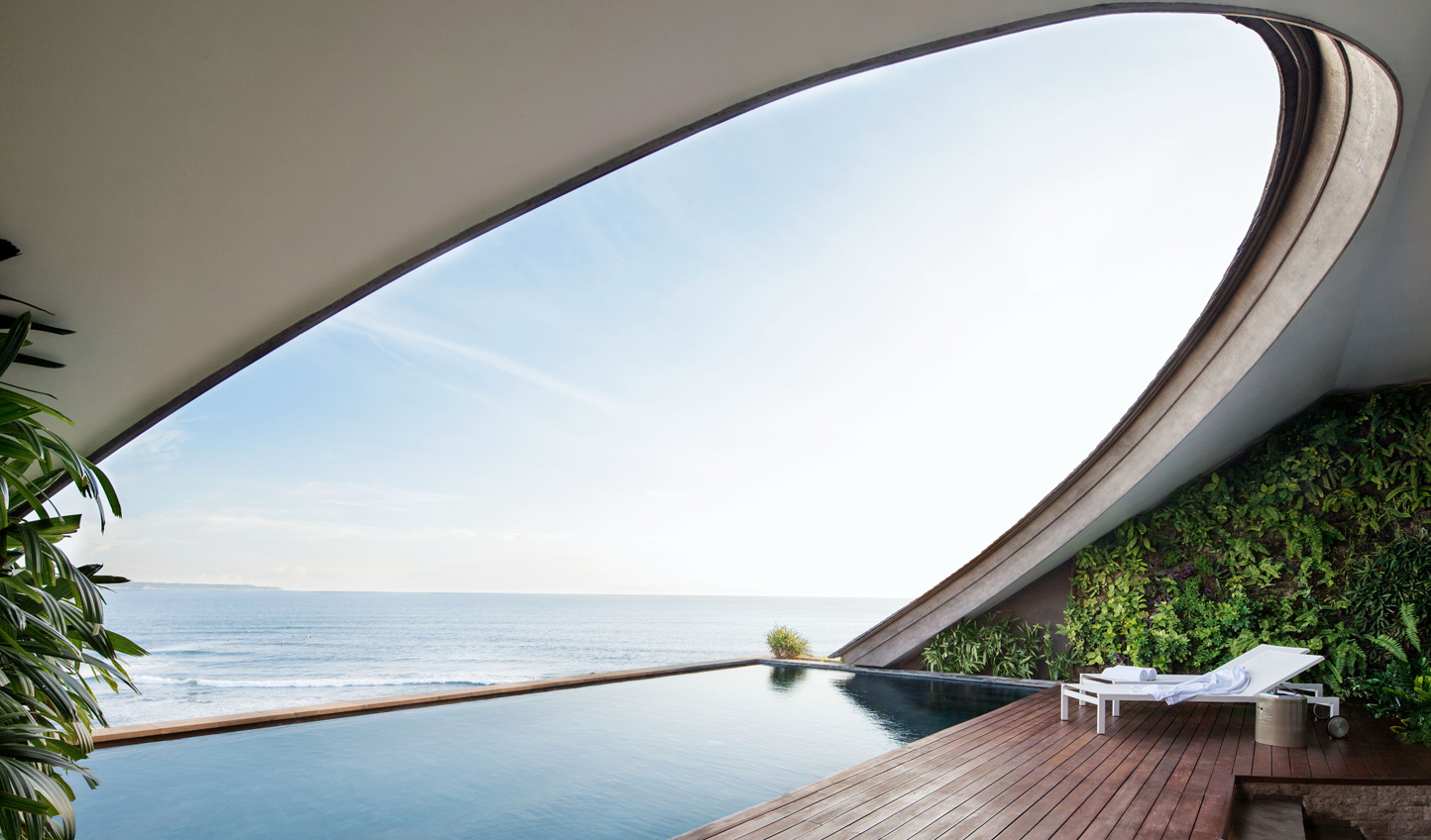 Stunning design that brings an air of sophistication to surfer chic Canggu