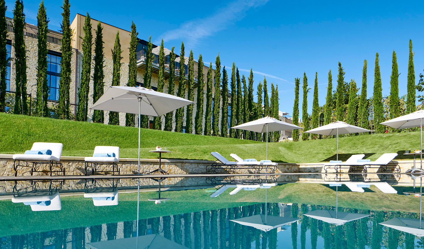 Dive into the beautiful swimming pools and relax amid the Provencal countryside