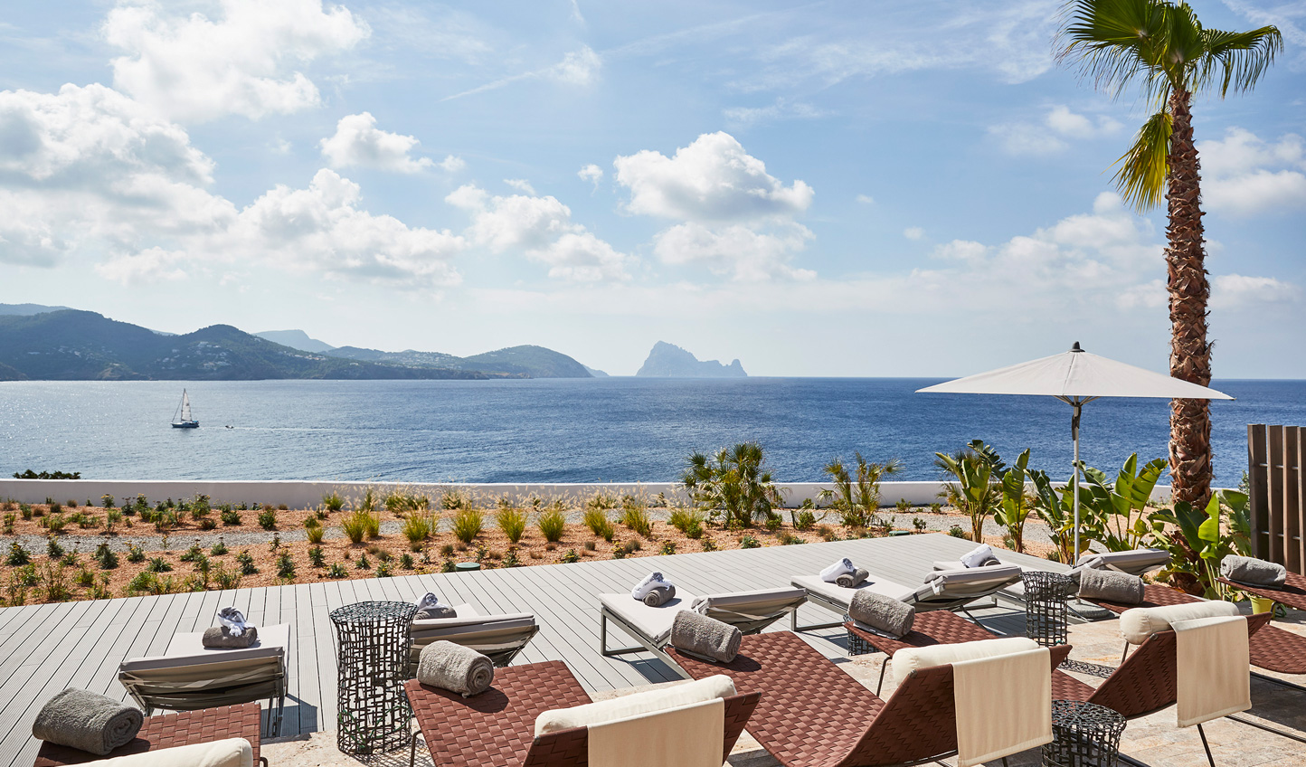 Feel the magic of Es Vedra on a visit to Pure Seven Spa