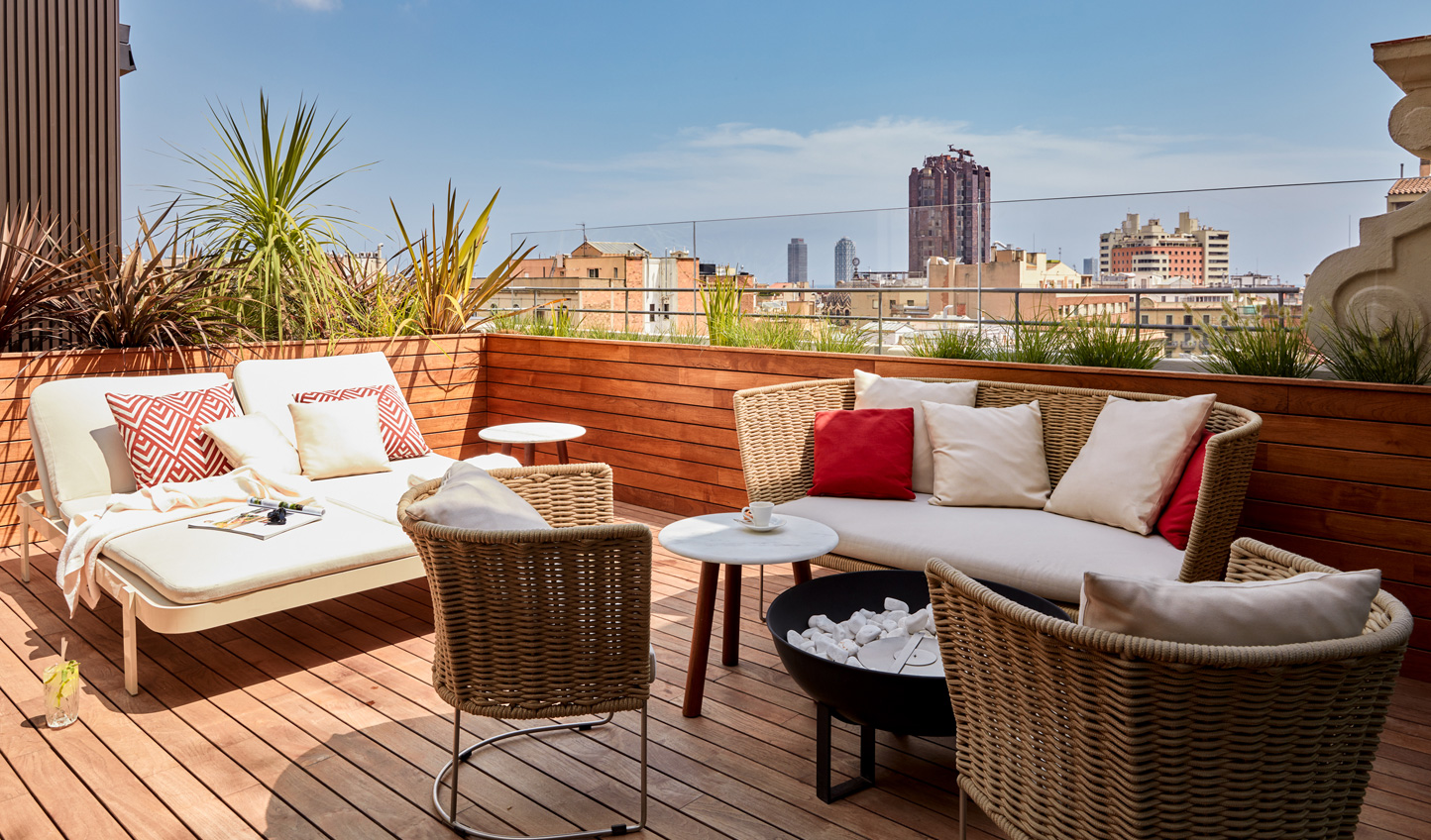 Bask in the Spanish sun out on your private terrace