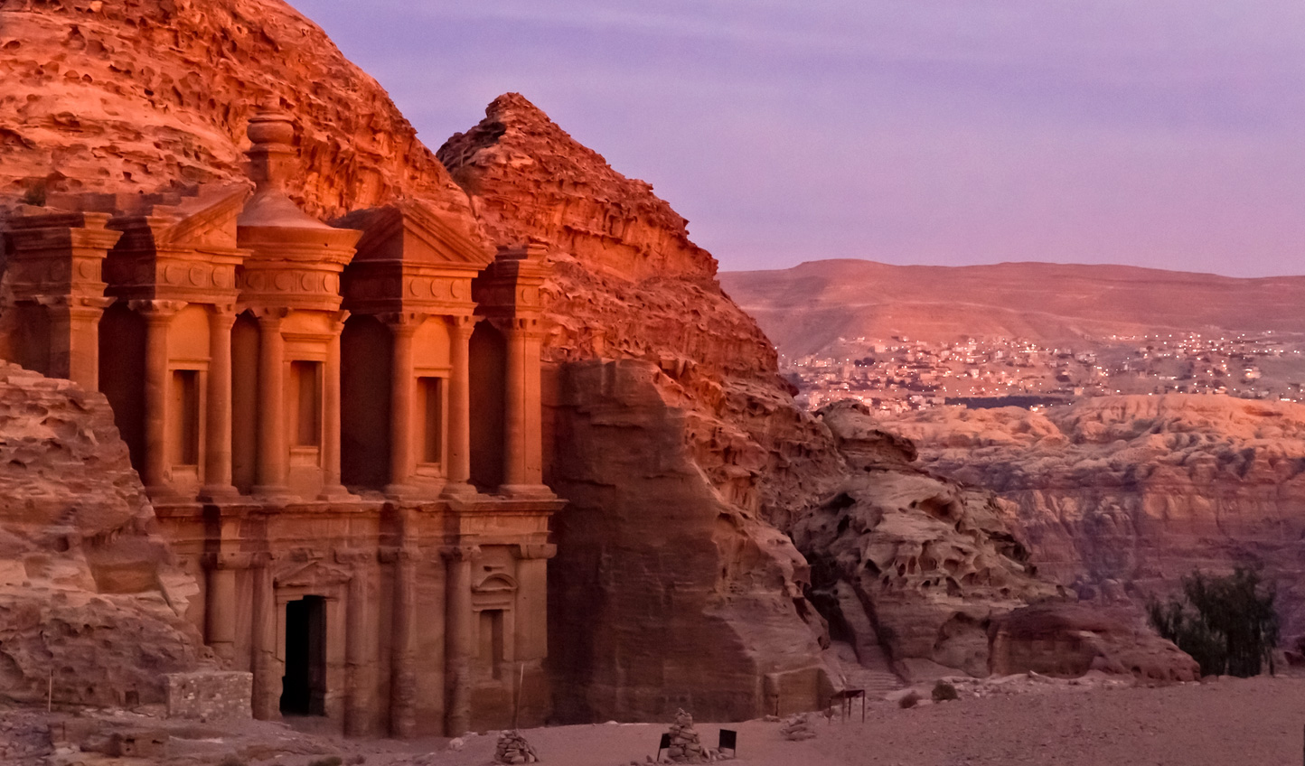 Marvel at the ancient city of Petra
