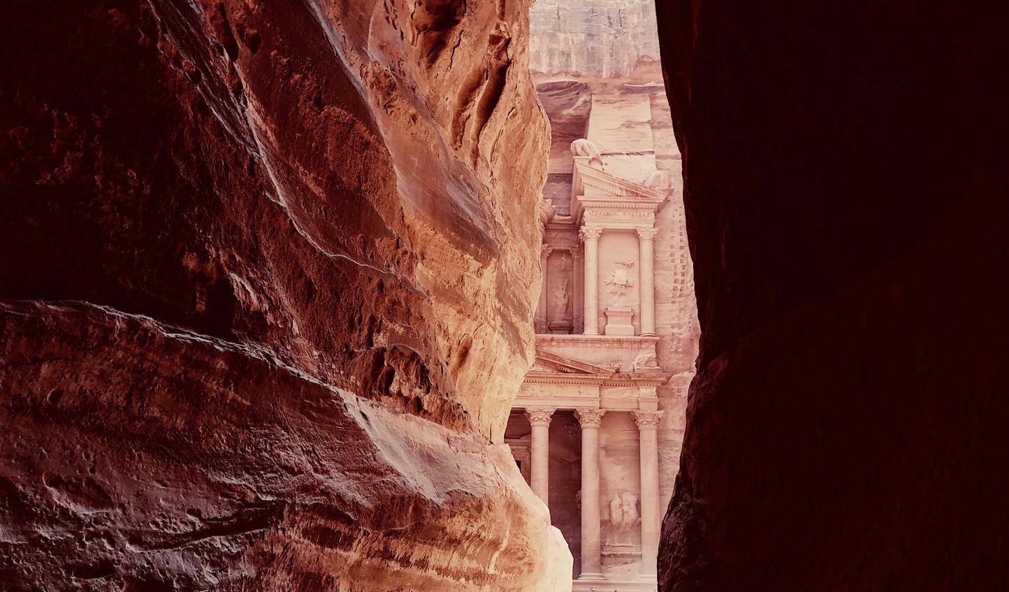 Arriving-at-Petra