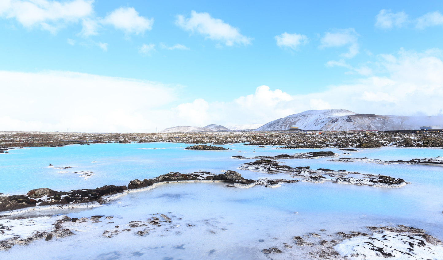 Take a dip in the thermal waters of the Blue Lagoon to begin