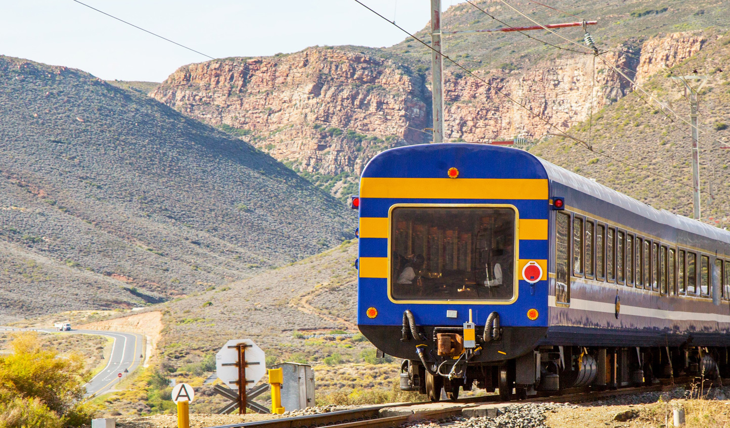 Journey down to Cape Town on the Blue Train