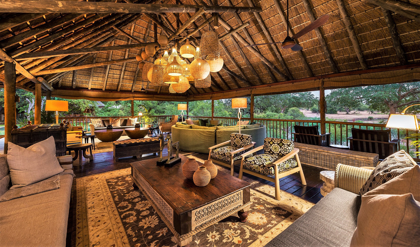 Review your work in the evenings at Bush Lodge