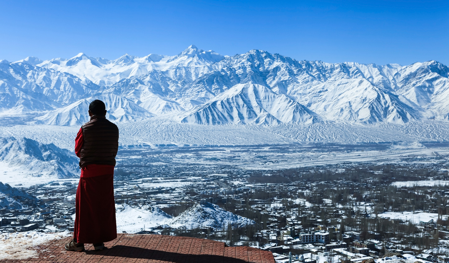 Hike through the foothills of the Himalayas and embrace the spirituality of Northern India