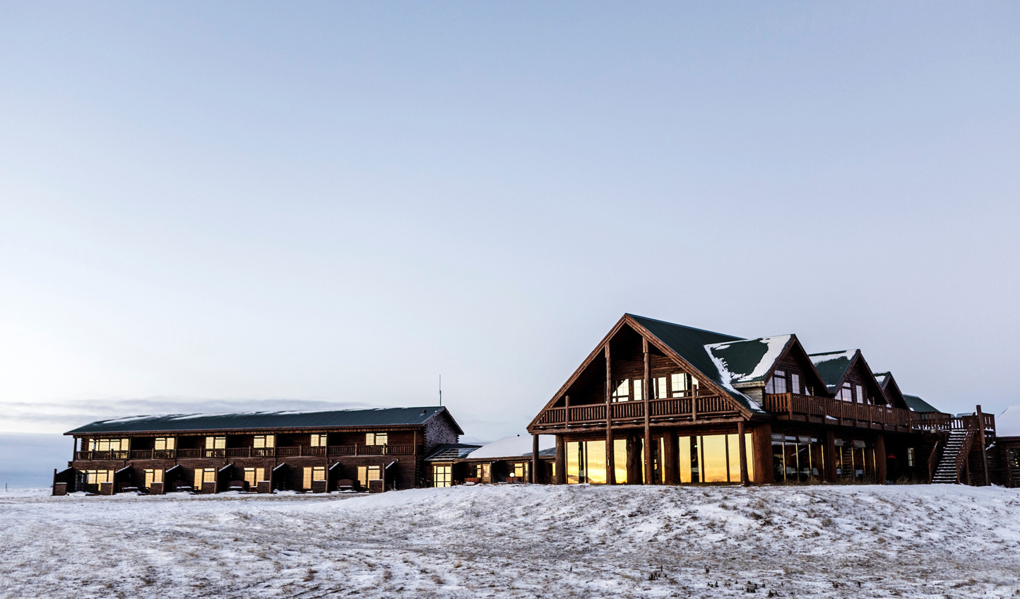 Head out to the rugged wilderness and rustic charm of Hotel Ranga