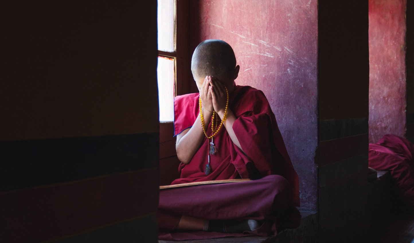 Join morning prayers at the monastery