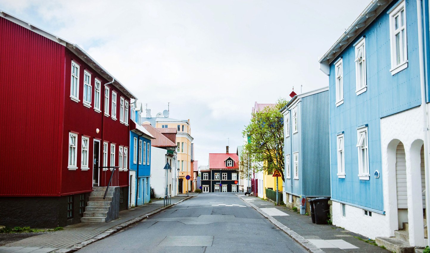 Take a stroll through the vibrant streets of Reykjavik