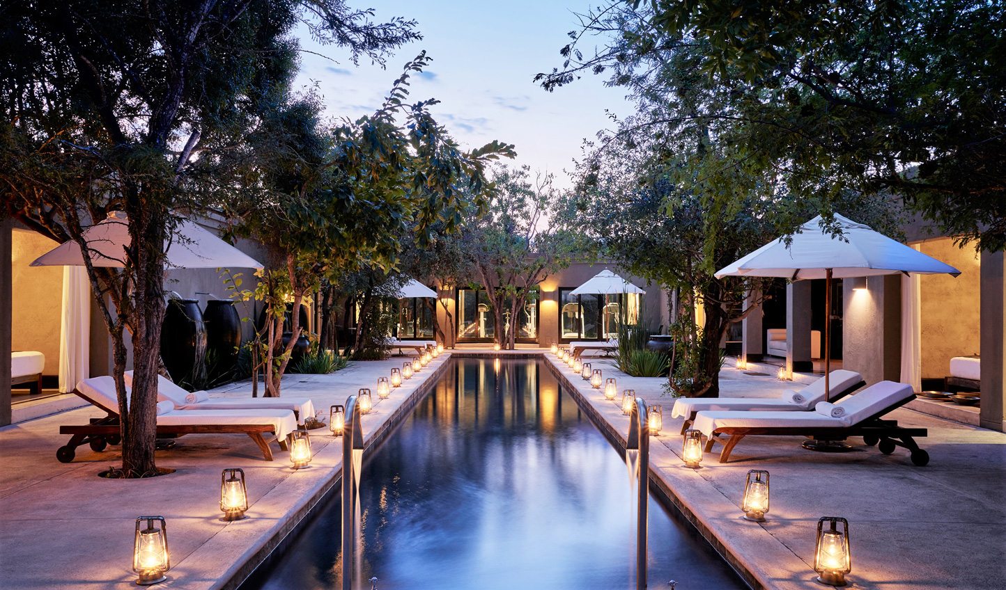 Spend your first few days in a state of bliss at the Royal Malewane