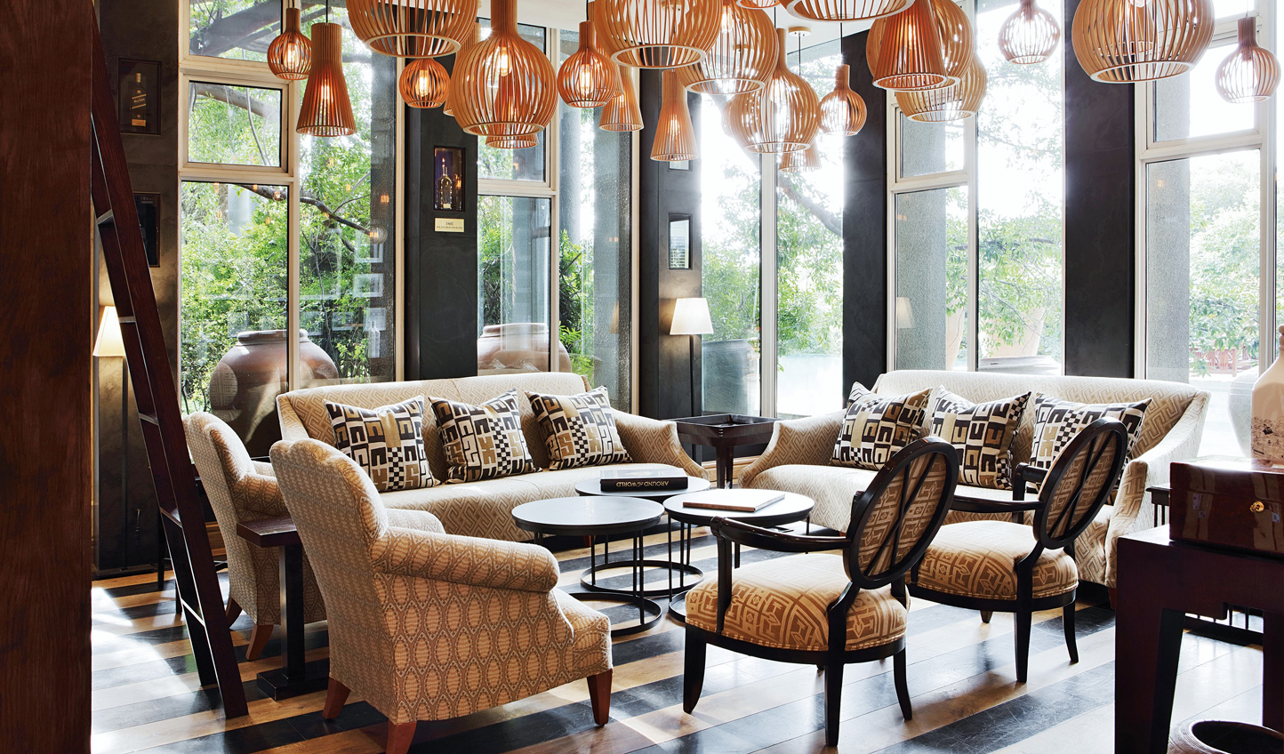 Head into Johannesburg for a stylish stay at The Saxon