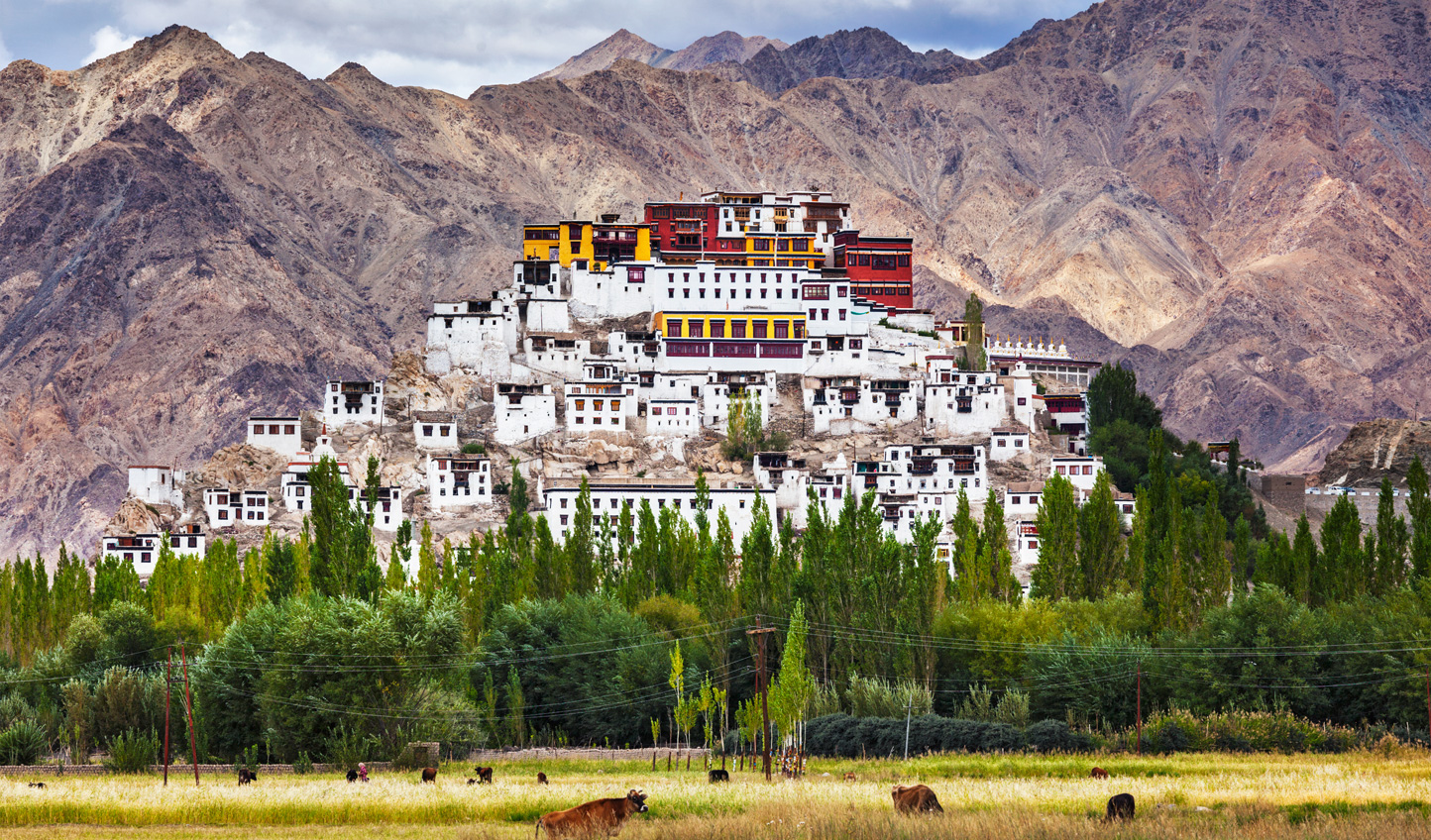 See the splendour of Thiksey Monastery