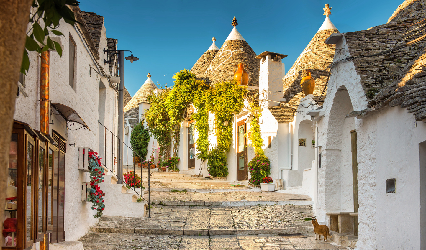 Discover the ancient trulli houses of Alberobello