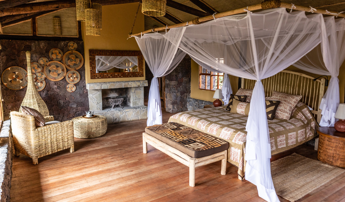 Rustic luxe bandas that provide the perfect spay to unwind after a day out trekking