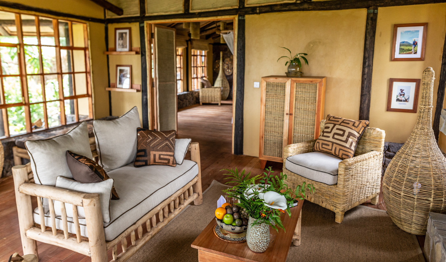 A charming lodge in the heart of gorilla country
