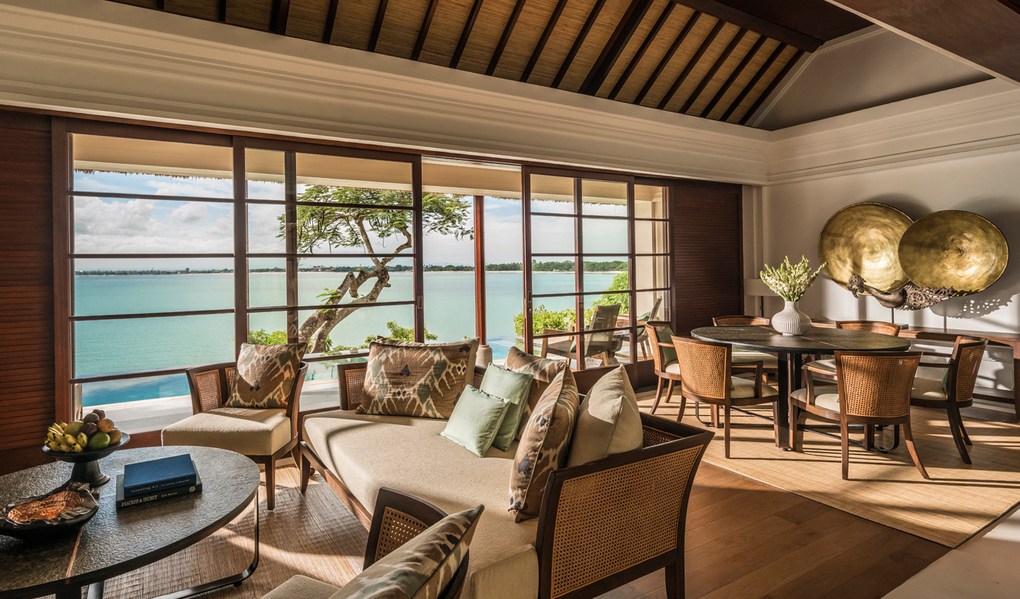 Make yourself at home in the stunning villas