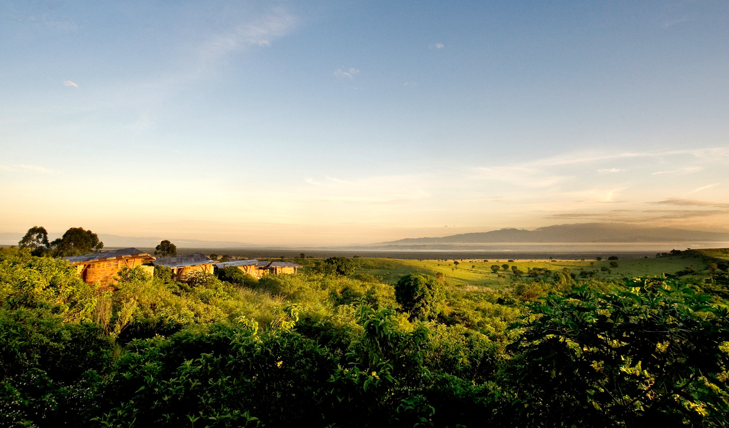Head north to the sweeping landscapes of Kyambura