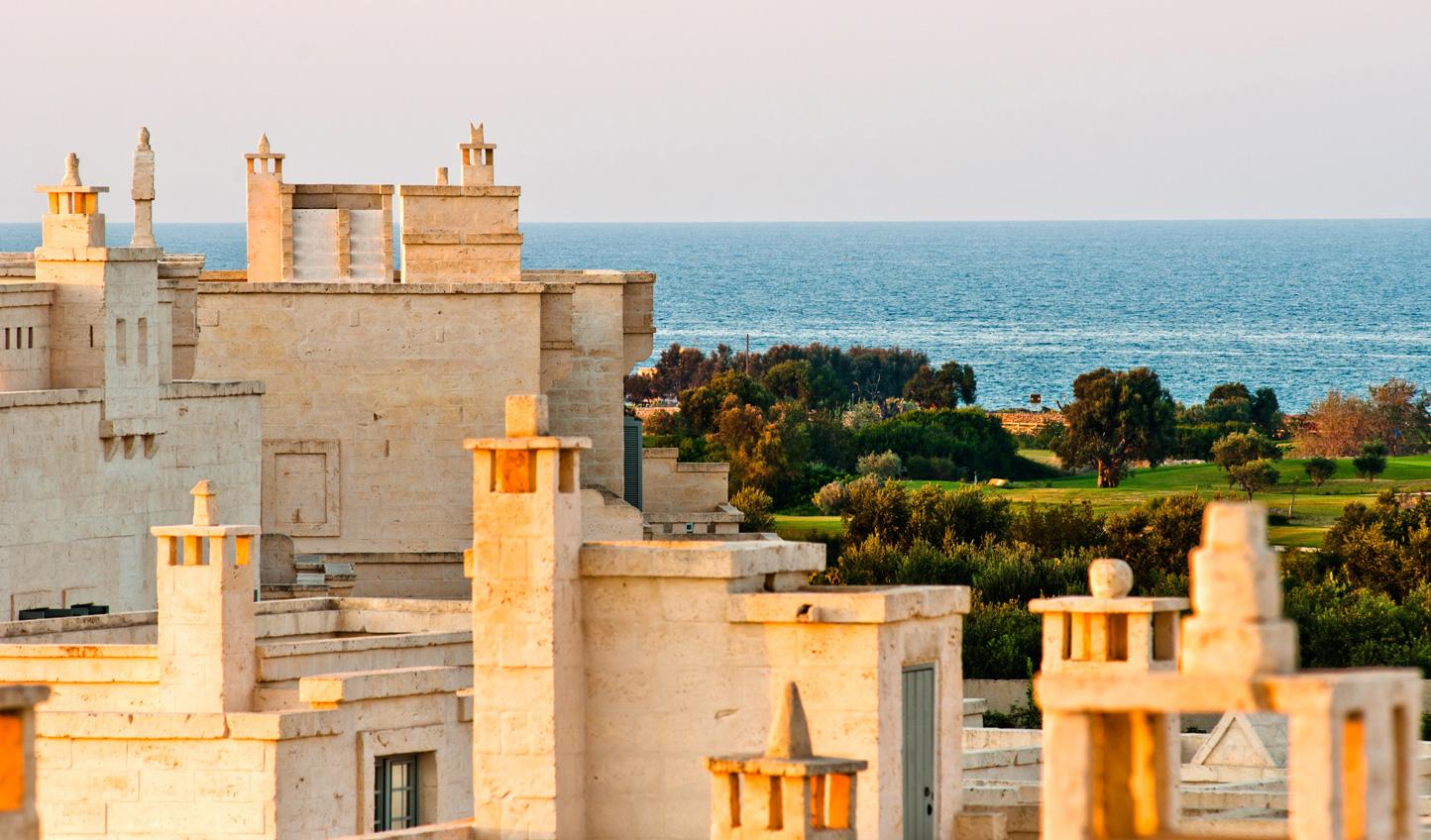 Settle in at Borgo Egnazia and soak in the sea views