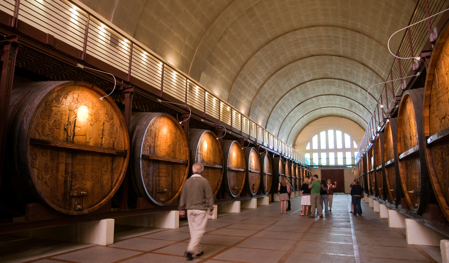 Go behind the scenes of the wineries