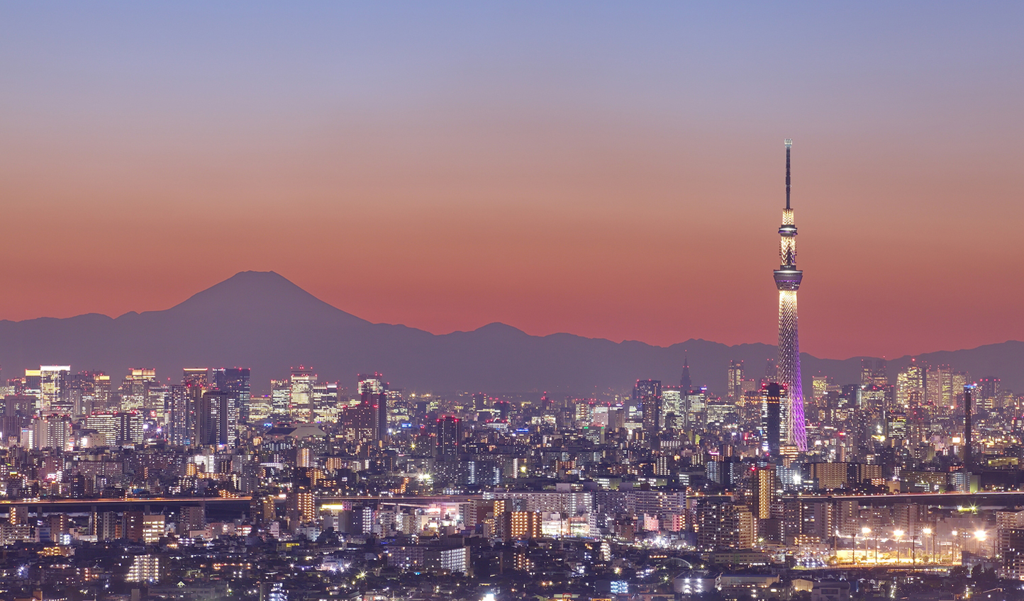 Kickstart your trip amid the bright lights of Tokyo