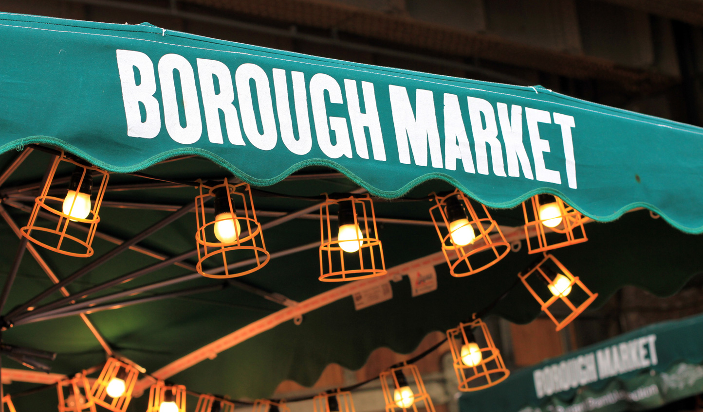 Explore the historically culinary streets of Borough Market with a private guide