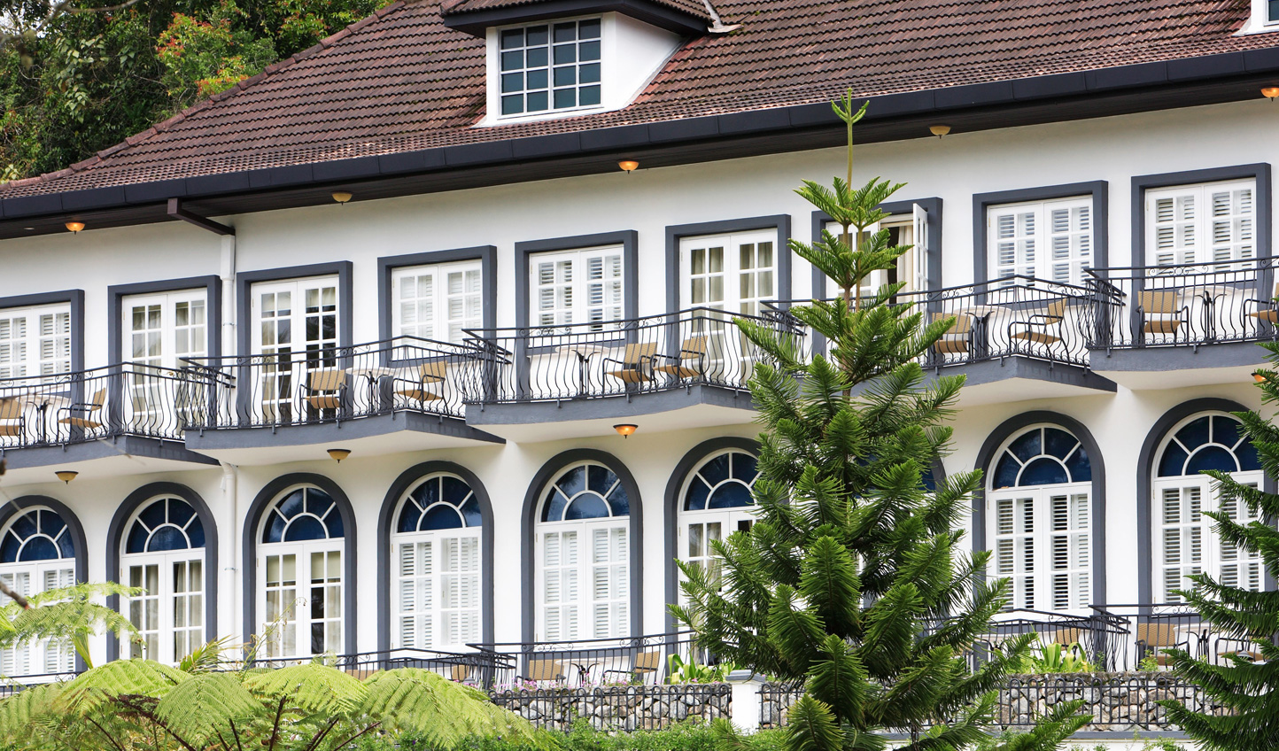 A touch of colonial style at the Cameron Highland Resort