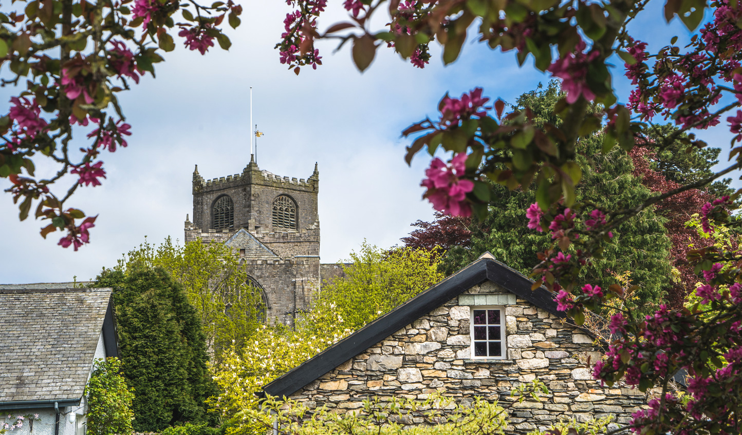 Escape to the quaint village of Cartmel