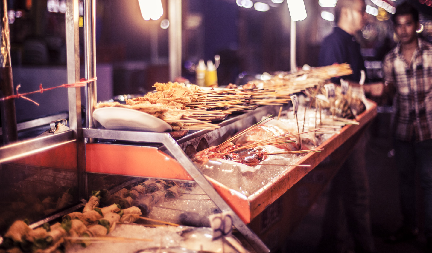 Sample local street food on a private tour
