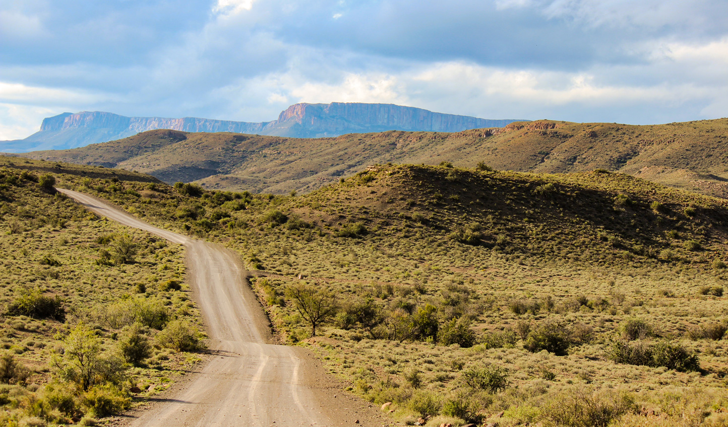 Head into the South African outback of the Klein Karoo