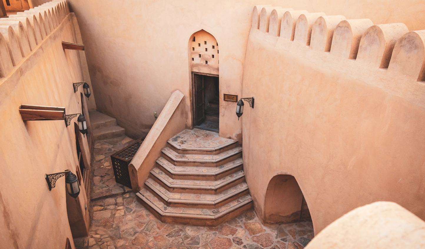 Go behind the walls of Nizwa Fort