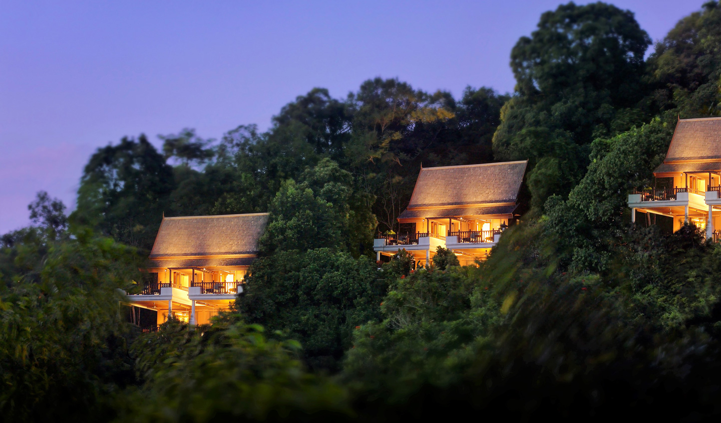 Stylish villas await at Pangkor Laut Resort