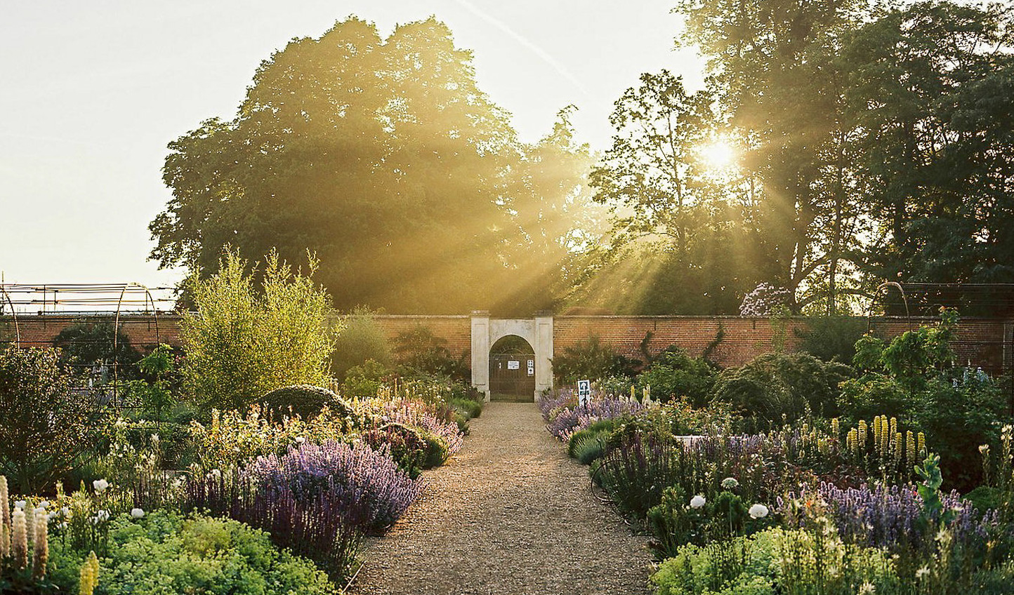 Take a stroll through the beauty of the Walled Gardens