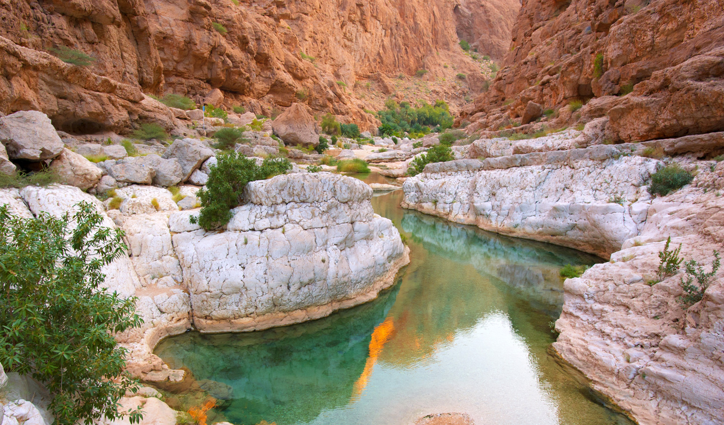 Venture out to the natural beauty of Wadi Bani Kalid