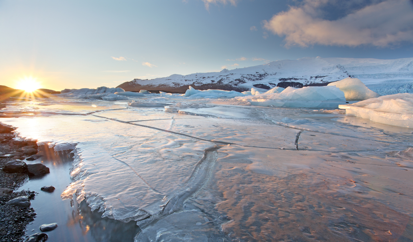 Discover frozen landscapes and geothermal wonder