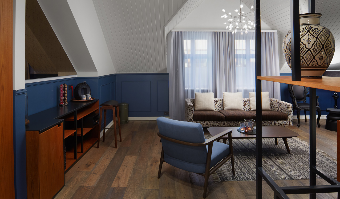 Unwind in your stylish suite