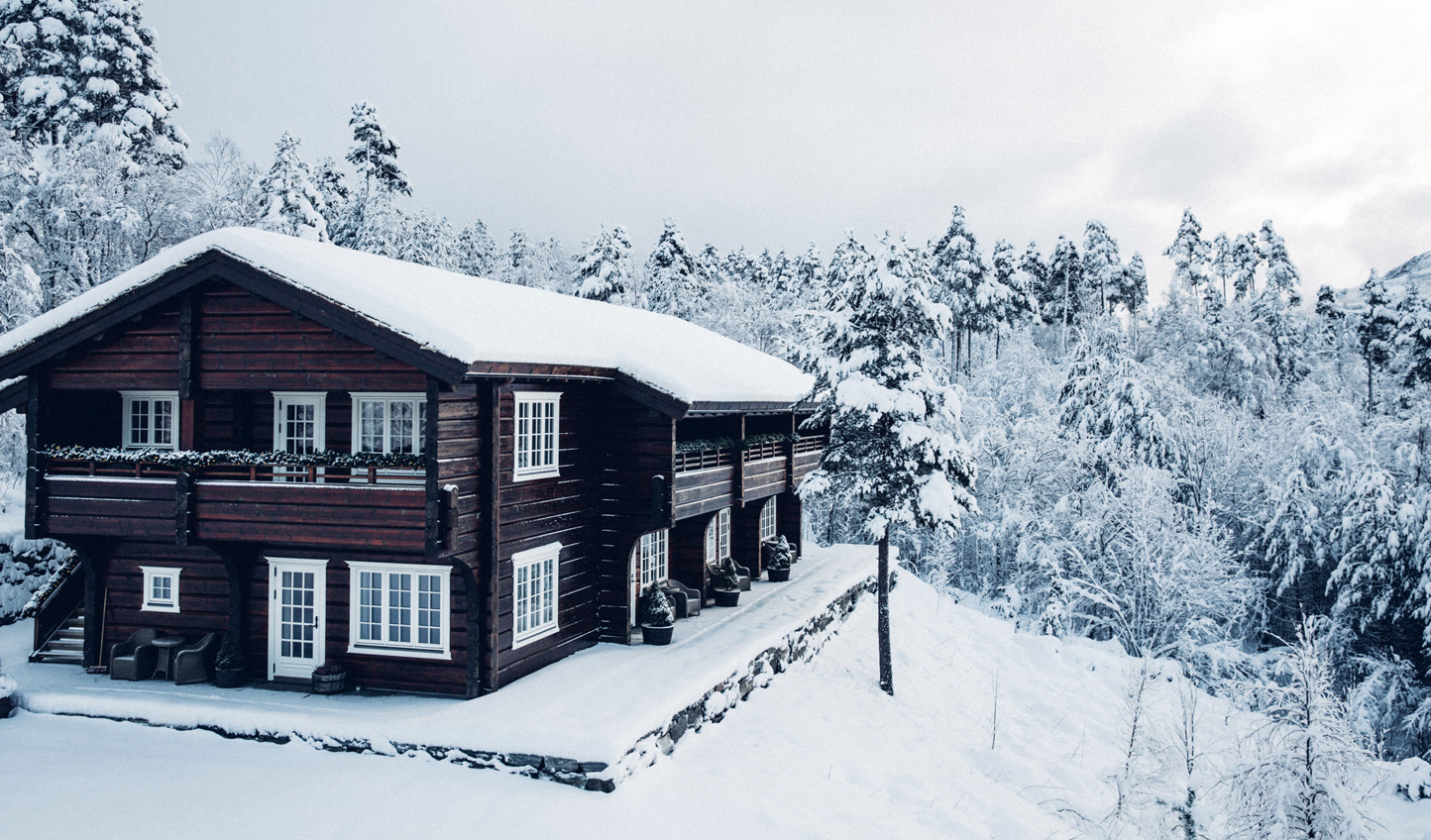 Escape the world for a day or two out in the Norwegian wilderness