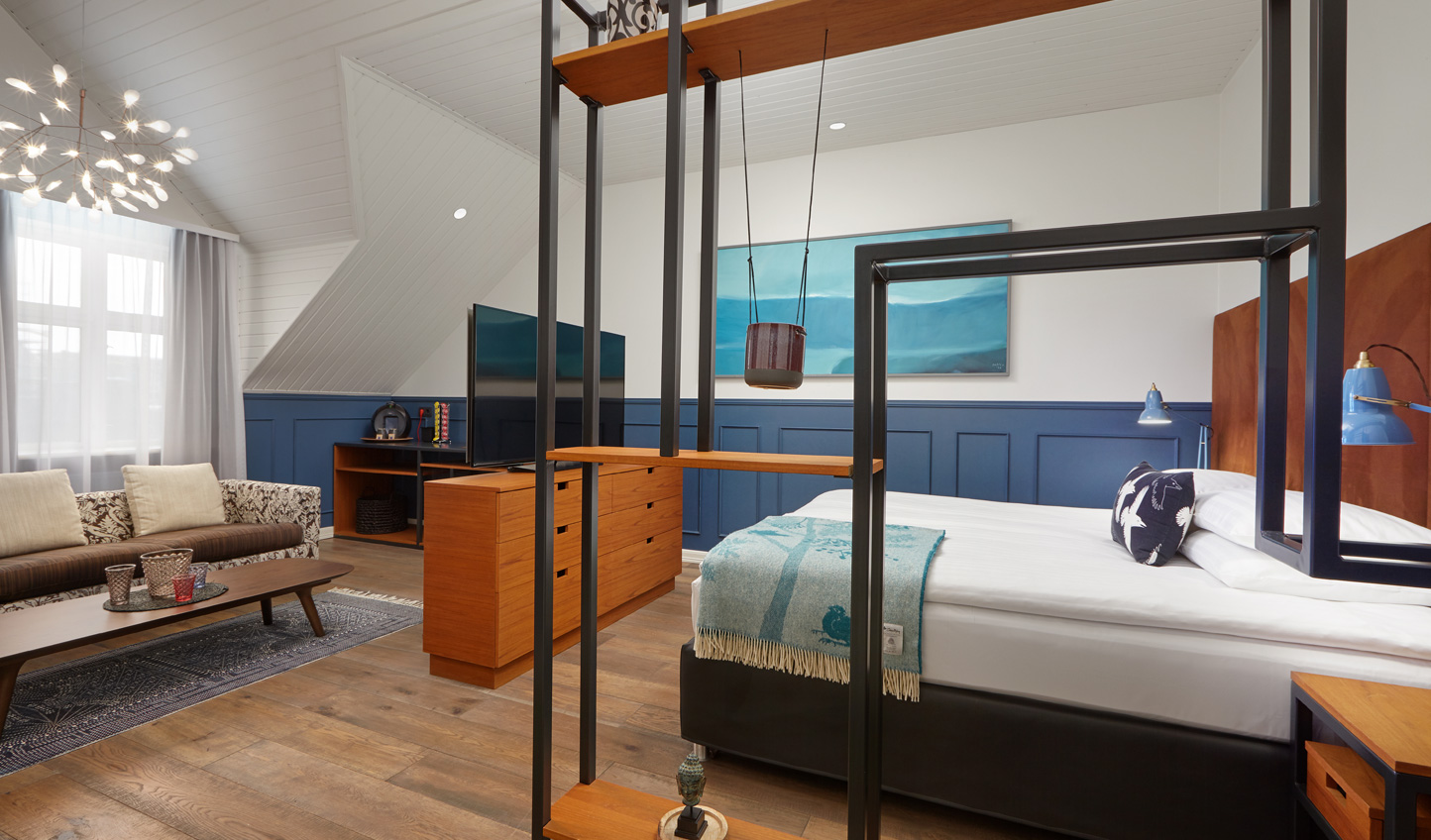 Modern design creates a stylish stay