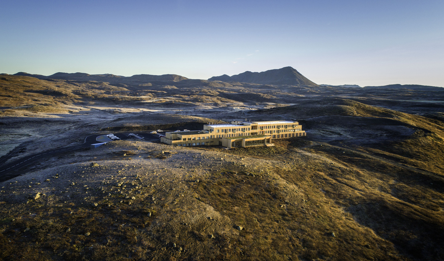 Escape the world for a few days at Fosshotel Myvatn