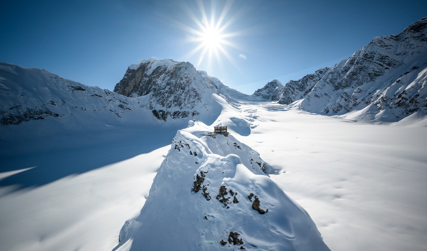 Set deep within Denali National Park, Sheldon invites adventure