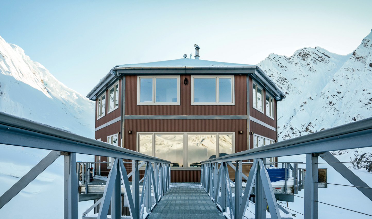 Escape the world up at Sheldon Chalet