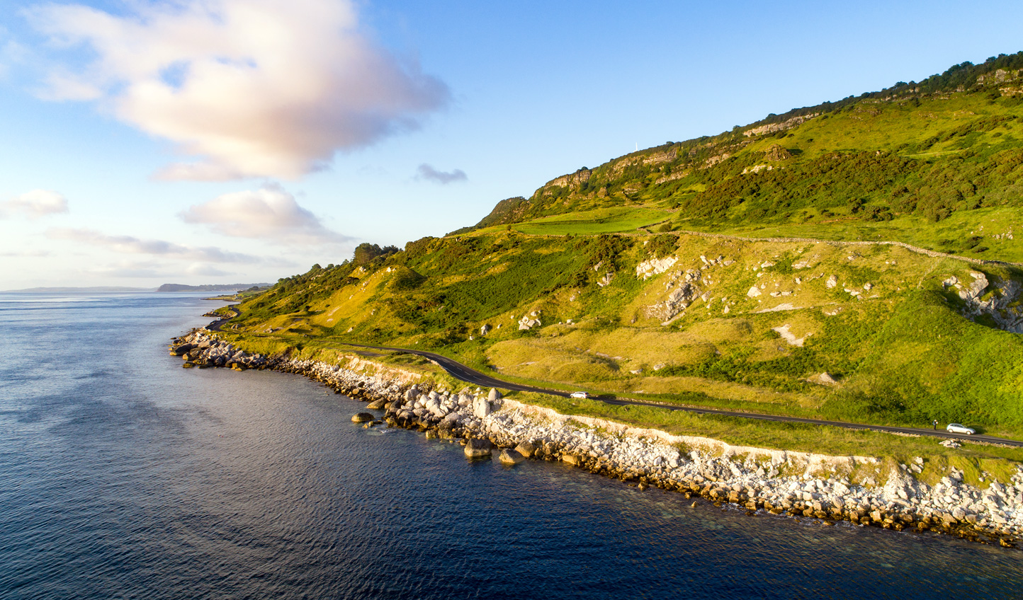 Drive the scenic Causeway Coastal Route