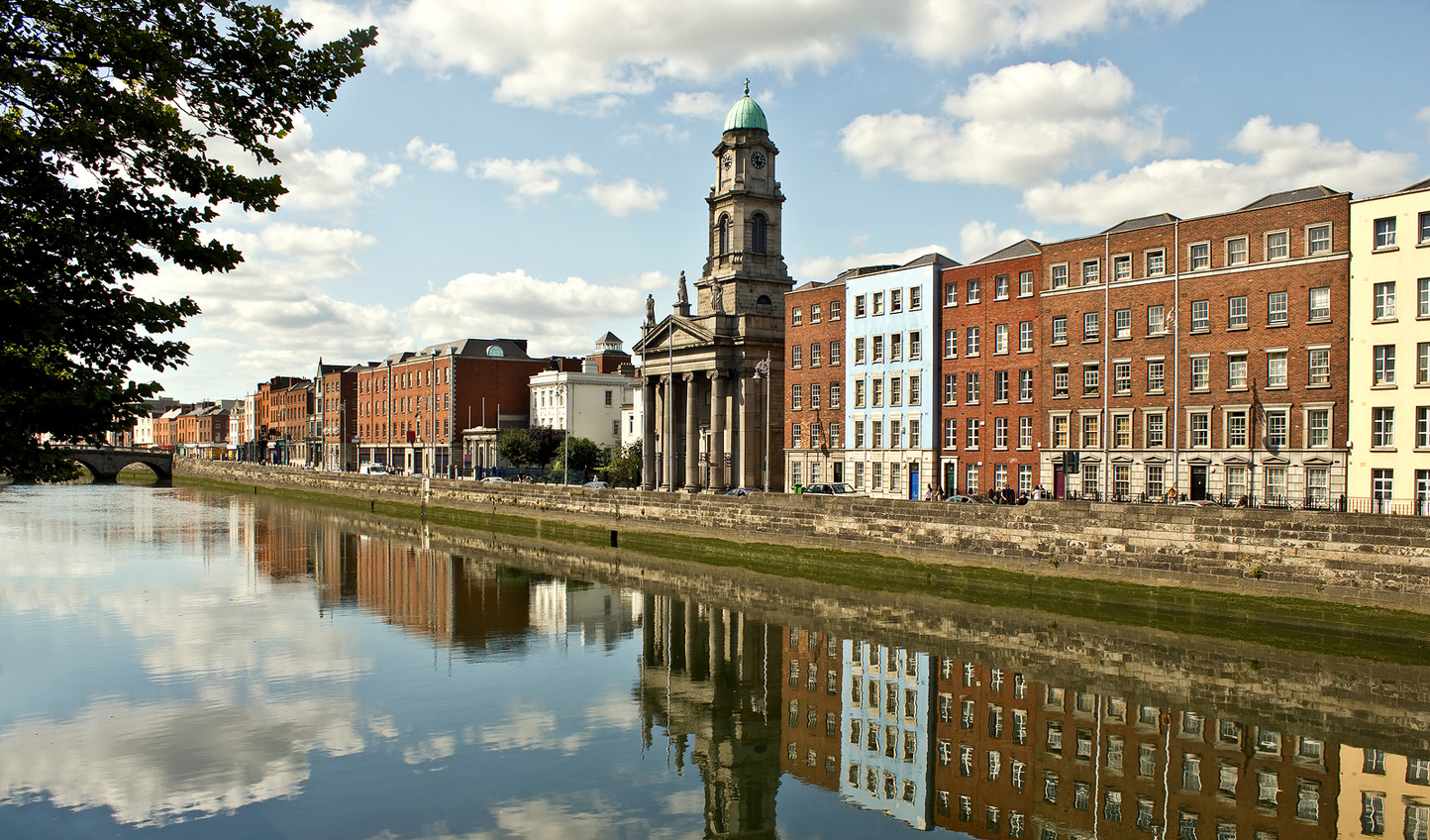 Start your journey off in the lively city of Dublin