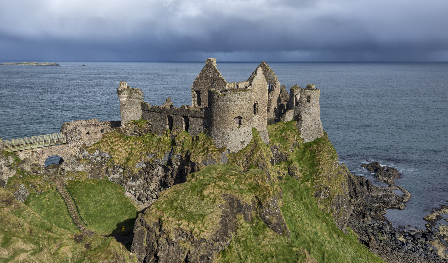 Stop off at the ruins of Dunluce Castle