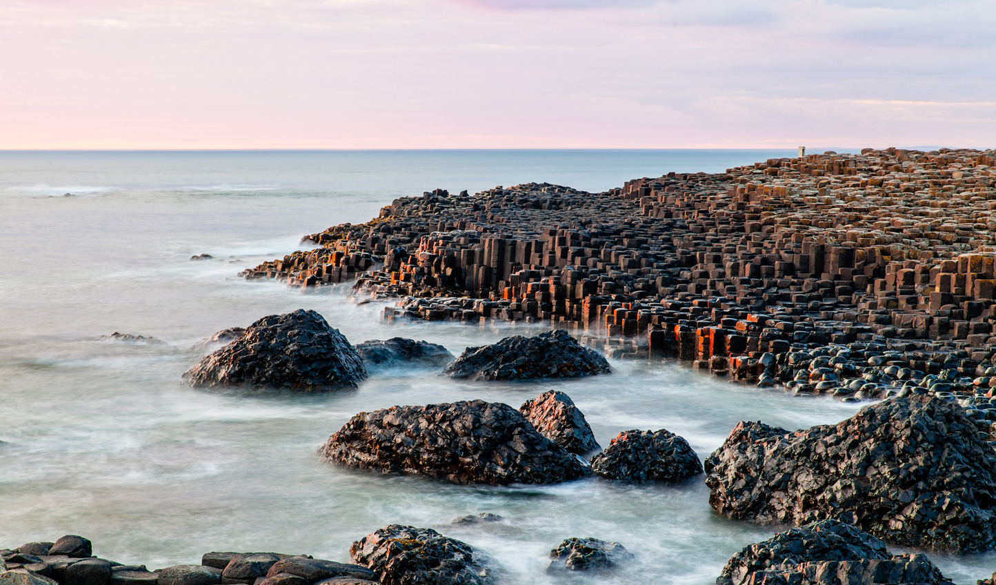 Walk in the footsteps of Giants on the Giant's Causeway
