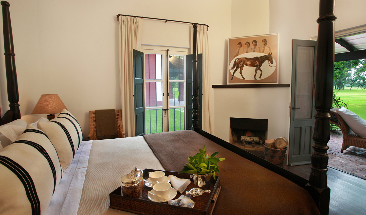 Wake up to views across the estancia